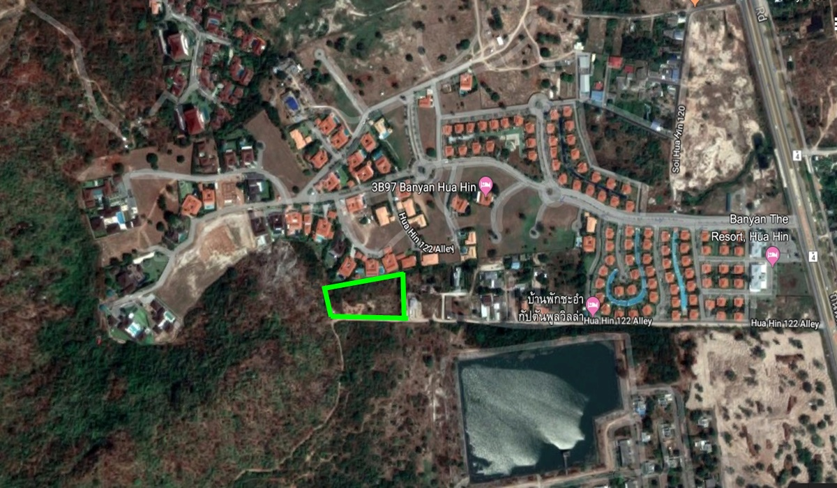 Land Near HuaHin Beach for sale